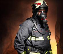 hlásič - detektor pohybu hasiče Draeger Bodyguard Tally B1000 Button
