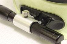 držák svítilny MINI MAGLITE, LEDLENSER P.6 na přilbu Gallet F1 SF - dural