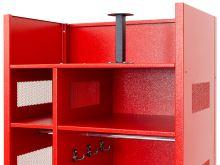 šatní skříň kovová pro hasiče IPO 1780 x 750 x 500mm bez nožiček