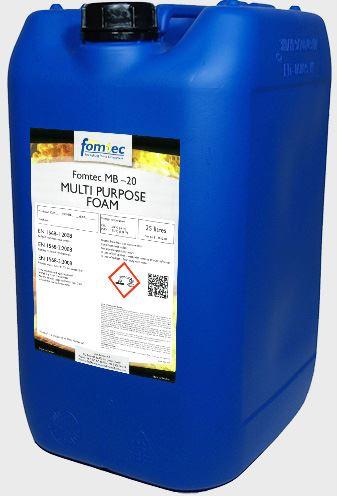 pěnidlo víceúčelové Fomtec MB5 - 2-6% (-20°C) - 25 kg