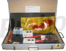 kufr vybavený elektronářadím
