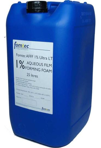 pěnidlo víceúčelové Fomtec ULTRA LT AFFF 1% ICAO (-38°C) - 25 kg