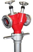 hydrantový nástavec DN100 s vřetenovým uzávěrem