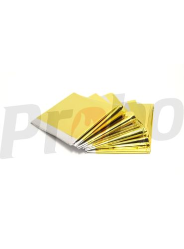 fólie izotermická zlato/stříbrná 1400x2200mm