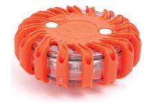 světlo - výstražný a signalizační LED modul - puk oranžový