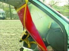 zachytávač airbagů OCTOPUS - sada spolujezdec