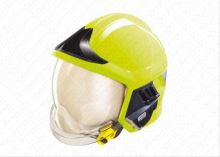 přilba GALLET F1 XF se zátylníkem, zlatý štít, brýle, fluorescenční, vel. L