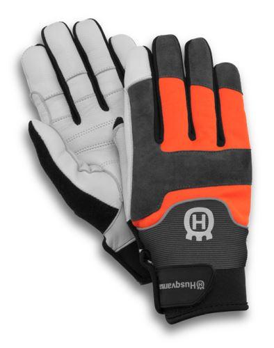 rukavice antivibrační Husqvarna Technical s protipořezovou ochranou