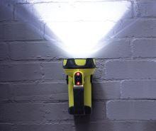 svítilna ruční nabíjecí TRIO 550, USB - LED