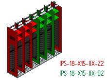 Nákres - Základní sestava včetně doplňkové sestavy + doplňkový profil pro montáž držáků přileb