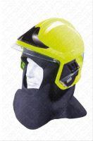 přilba GALLET F1 XF se zátylníkem,  fluorescenční, vel. M