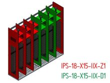 Nákres - Základní sestava včetně doplňkové sestavy