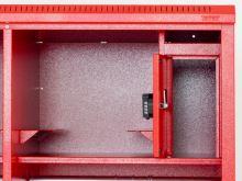 šatní skříň kovová pro hasiče IPC 1780 x 1000 x 600mm bez nožiček