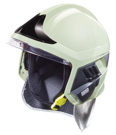 přilba GALLET F1 XF se zátylníkem, fotoluminiscenční, 52-62 cm
