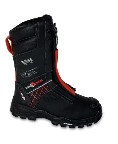 obuv zásahová Black Fighter - podešev Michelin