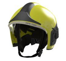 přilba DRAEGER HPS 7000 H2 signální žlutá, zlatý štít, vč. zátylníku NOMEX, bez polepu