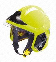 přilba GALLET F1 XF se zátylníkem, čirý štít, brýle, fluorescenční, vel. L