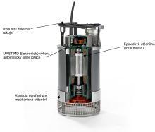 čerpadlo kalové ponorné MAST TP4-1 DIN 14425
