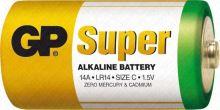 baterie GP super alkaline LR 14 malé mono
