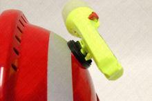 držák svítilny PELI pro přilbu Gallet F2 X-trem