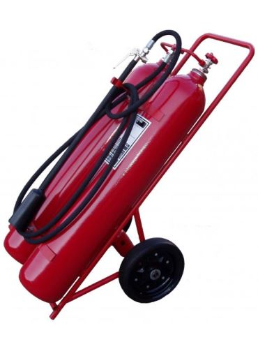 hasicí přístroj sněhový CO2 - S 2x25 B - pojízdný