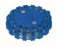 světlo - výstražný a signalizační LED modul - puk modrý