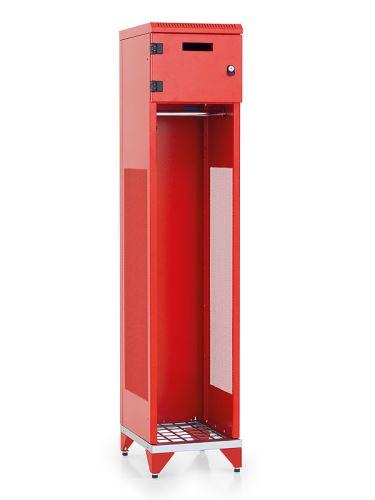šatní skříň kovová pro hasiče IPB 1780 x 400 x 500mm bez nožiček