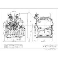přenosná motorová stříkačka TOHATSU VE 1500 s vřetenovými uzávěry
