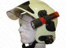 držák svítilny UK4 AA/PARAT na zásahové přilby samolepící