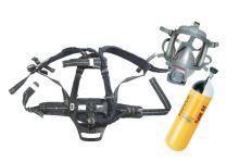 dýchací přístroj PLUTO 300 Fireman set - maska s náhl.křížem