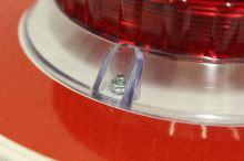 terč zastavovací svítící oboustranný LED - červená / zelená