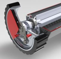 vozík posypový kovový na sorpční drť, SDC05