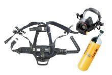 dýchací přístroj PLUTO 300 Fireman set - maska s kandahárem