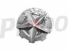 rozeta stříbrná - 14 mm