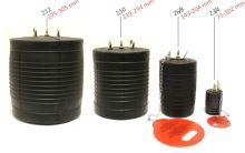 těsnící vak potrubí neprůchozí 2,5 bar - plugy Z10