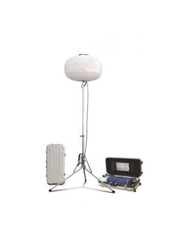 stativ - balon LED osvětlovací 300 W v kufru