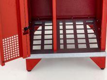 šatní skříň kovová pro hasiče IPA 1780 x 500 x 500mm bez nožiček
