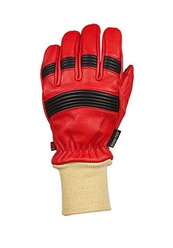 rukavice zásahové Rosenbauer FIRE PRO Red s úpletem