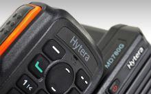 radiostanice vozidlová digitální HYT MD785 VHF  s klávesnicovým mikrofonem