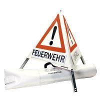 nápis s vlastním motivem ke skládací dopravní značce