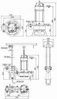 čerpadlo kalové ponorné HCP BF-21PNF s plovákem, 400V